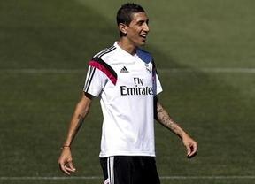 Se acabaron las especulaciones... de momento: Di María, convocado por el Madrid para la Supercopa de Europa