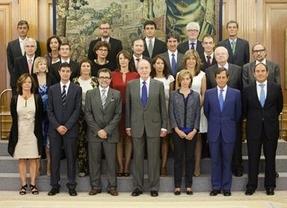 El alcalde de Cuenca, en la audiencia del Rey a PhotoEspaña