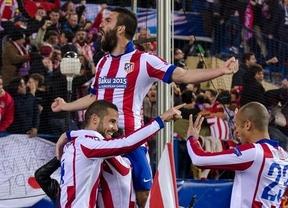 Champions: el Atlético se mete en los cuartos de final tras igualar la eliminatoria con el Bayer (1-0) y derrotarle en los penaltis (3-2)
