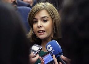 La vicepresidenta saca los colores a Pablo Iglesias: debió estar en su escaño en Bruselas y no dando un mitin en Madrid
