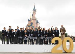 Los niños de San Ildefonso cumplen sus sueños en Disneyland París antes de repartir los mejores deseos la Lotería de Navidad