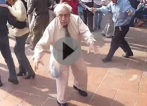 El anciano rockero, el nuevo viral que recorre la Red