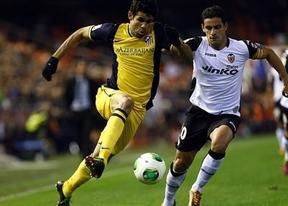 El campeón o uno de los aspirantes quedarán esta K.O. esta noche: Atleti-Valencia copero en el Calderón