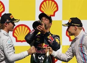 Ricciardo se lleva el triunfo ante los Mercedes y un Alonso séptimo al que le falló el coche