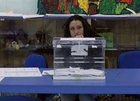 La participación española en las europeas se queda en el 45,86%, superando la de las anteriores elecciones (44,9%)
