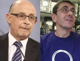 'Mon' vs 'Mon': duelo de 'recaditos' entre el ministro de Hacienda y el número tres de Podemos