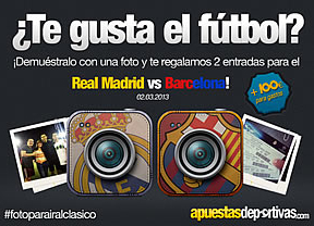 Una nueva iniciativa en Facebook y Twitter permite a los usuarios conseguir entradas gratis para el Madrid - Barça