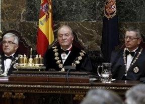 La cara que puso Gallardón ante el discurso del fiscal general