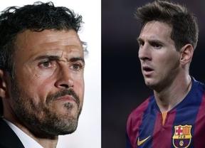 Luis Enrique no quiere m�s guerras: convoca a Messi para el partido ante el Elche