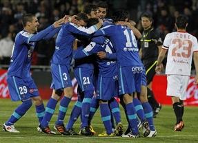 El Getafe humilla al Sevilla y se sube al carro europeo (5-1)