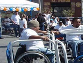 Delegación MH reconstruyó rampas para personas con discapacidades