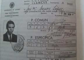 Aznar no habría pasado la 'nota de corte' de Wert