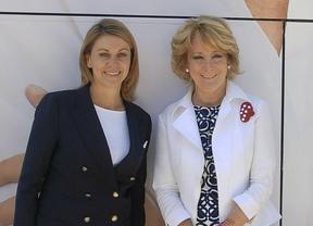 Aguirre y Cospedal, las principales 'lideresas' electorales del PP, sin programa a 3 días de las elecciones