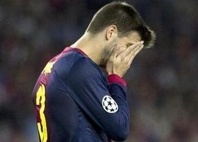 La lesión de Piqué puede impedirle jugar el nuevo clásico del siglo el 7 de octubre
