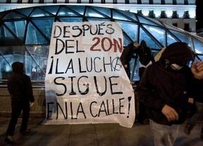 Y después del Hotel Madrid, los 'indignados' okuparon otro edificio en el centro de la capital