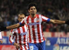 Atlético-Osasuna: fácil para unos rojiblancos a medio gas y con dos goles de Costa (2-1)