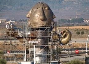 Y Castellón se dejó en esta estatua para su 'aeropuerto'... 300.000 euros