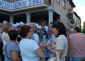 Concentración en Los Yébenes contra el cierre de Urgencias