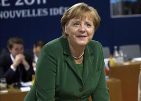 Merkel niega tener un plan para dividir la zona euro