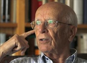 El escritor Emilio Lledó, ganador del Premio Nacional de las Letras 2014