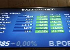 La prima de riesgo española baja de 270 puntos por primera vez en dos años