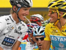 Schleck, todo un caballero ante el supuesto dopaje de Contador: