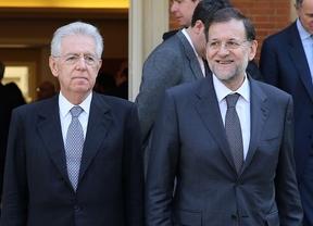 Rajoy y Monti unen sus fuerzas contra el supercomisario económico que reclamaba Merkel