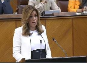 Susana Díaz pide a Moreno que cumpla su palabra y deje gobernar al partido más votado
