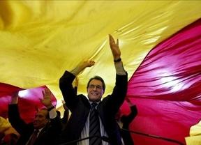 Artur Mas endurece su aventura soberanista a 20 días de las elecciones llamando a la insumisión ante España