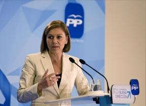 Cospedal no descarta la segunda vuelta para la elección directa de alcaldes