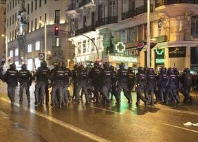 17 detenidos en los disturbios ocurridos tras las Marchas de la Dignidad