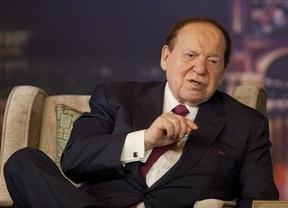 Leyes a gusto del inversor: Adelson convence a Rajoy para que se pueda fumar en 'Eurovegas'