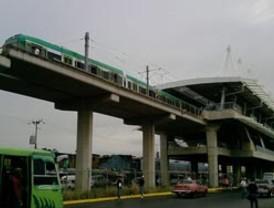 Se descarriló un vagón del Metro de Maracaibo