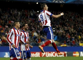 El Atlético se venga de a derrota en Atenas y estoquea fácil a Olympiacos (4-0)