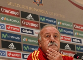 Del Bosque se suma al 'culebr�n Casillas'