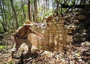 Encuentran una ciudad perdida maya en la selva mexicana