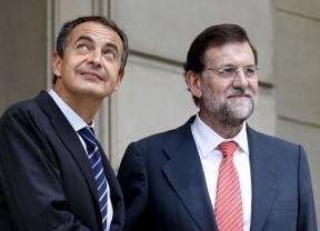 El 'ABC' y 'La Razón', inclementes con Zapatero y magnánimos con Rajoy