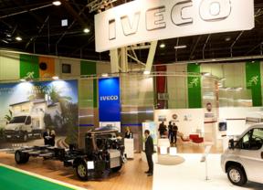 Stand de Iveco en el Salón de Vehículos de Ocio de París