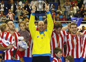 Los balonmaneros dan ejemplo a los futboleros: conquistan la Copa del Rey y con paliza (28-38)