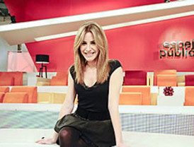 Ainhoa Arbizu, relevo navideño de Susana Griso en 'Antena 3'