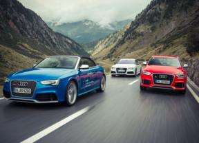 Los nuevos Audi RS demuestran su eficacia