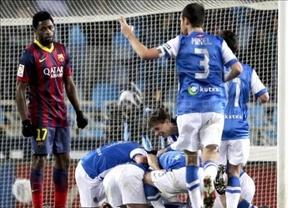 'Alcorconazo' del Barça en Anoeta: la Real se venga de su eliminación copera y le roba los puntos y la cabeza... de la clasificación (3-1)