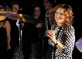 Patricia Kraus presenta en Valladolid su nuevo disco, 'Retrocollection'