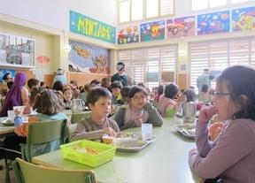Comedor en un colegio