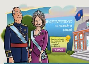 Zarzuela se inventa la 'zona infantil' en su web para ganar adeptos y mejorar la imagen de la Casa Real