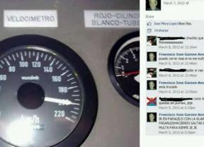 Presuntamente, el maquinista del tren presumi� en 2012 en su Facebook de ir a grandes velocidades:
