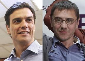 Duelo Sánchez-Monedero a cuenta de las ayudas 'para españoles'