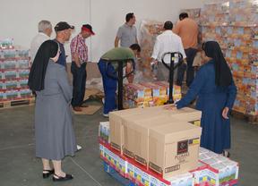 El Banco de Alimentos de Toledo reparte casi 20 toneladas de comida y sin ayudas oficiales