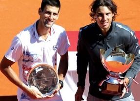 La vida sigue igual: y la lista de la ATP también,con Djokovic de número uno y Nadal de dos