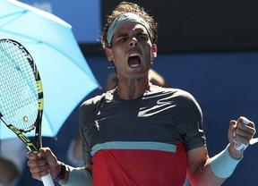 'SuperNadal' está como nunca: apuntilla rápidamente a Federer y se mete en la finalísima delOpen de Australia